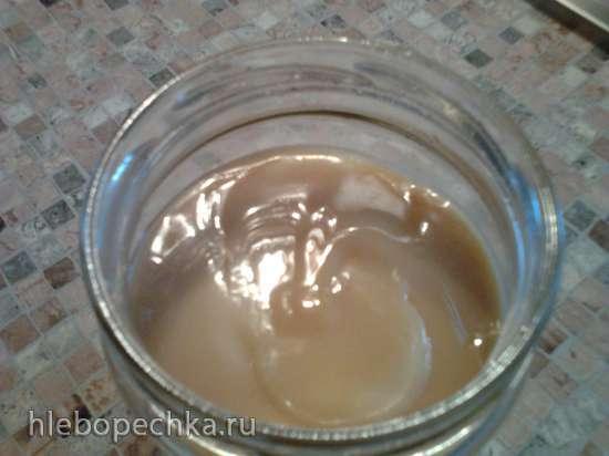 Вареное сгущеное молоко в коптильне Brand 6060