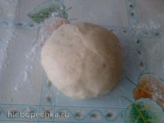Лапша домашняя жареная в духовке Бабушкина