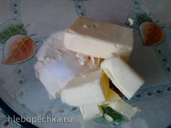 Печенье «Треугольнички» на твороге (без яиц)