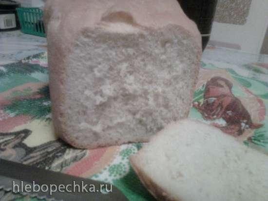 Французский хлеб на густой опаре в хлебопечке