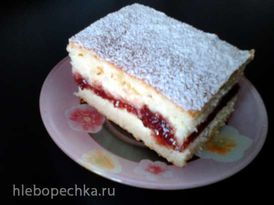 Пирог на кефире «Пышка»