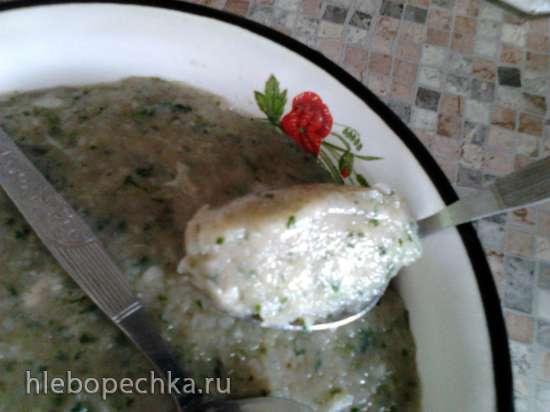 Суп с куриными фрикадельками Нарядный