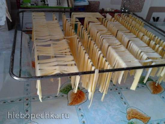 Решетка от духовки в качестве сушилки для лапши