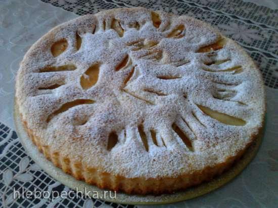 Шарлотте (яблочный пирог на кефире)