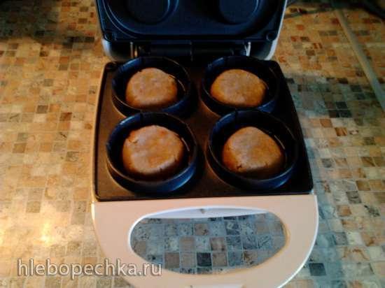 Ржаные тарталетки с селедкой Гламурчик (тарталетница Ves)