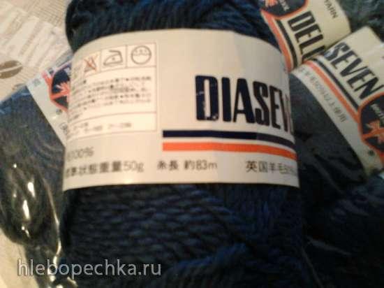 Продам пряжу Diaseven ,100% шерсть , Китай.