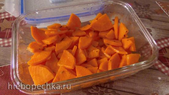 Закуска из моркови