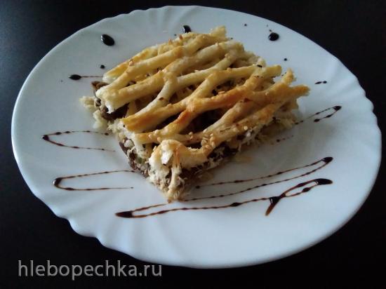 Пирог с курицей Ревизор.