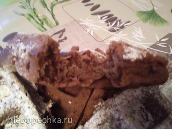 Кекс шоколадный из кабачка
