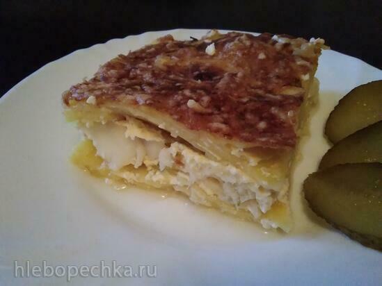 Запеканка Картошка & Рыба