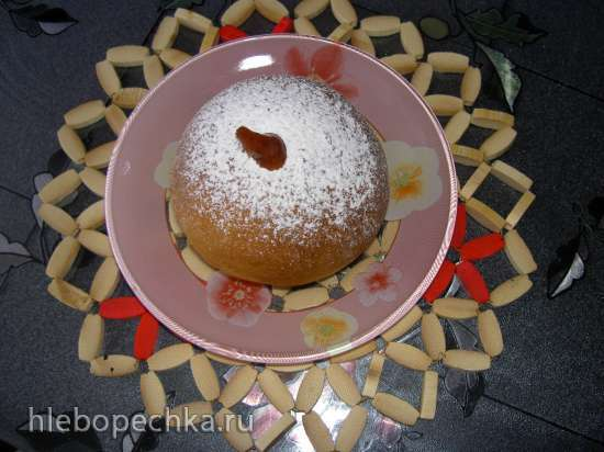 Пончики Суфганиет из духовки