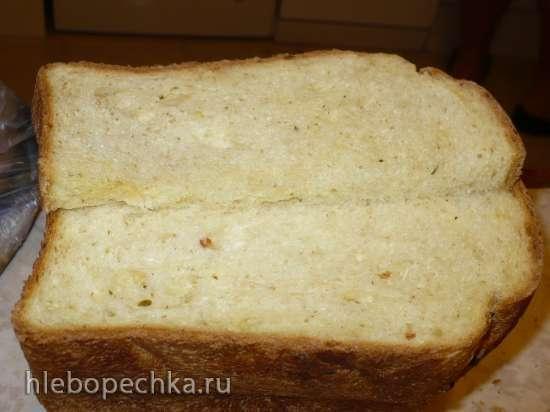 Французский хлеб с кедровыми орешками