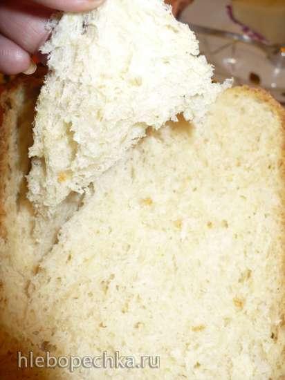 Panasonic SD-2501. Пшеничный хлеб с овсяными хлопьями