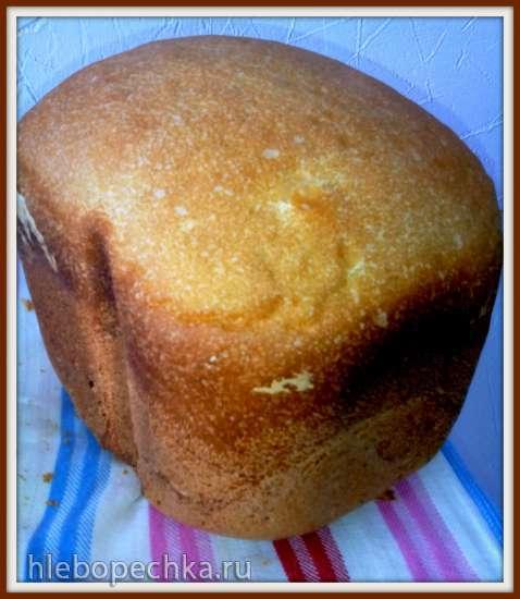 Мой любимый пшенично-ржаной хлеб на вечной закваске для духовки