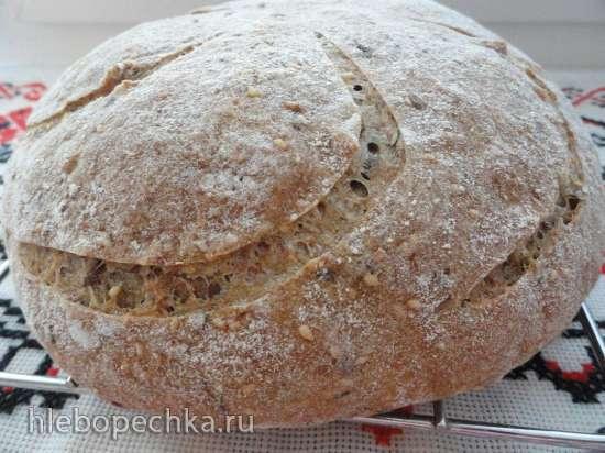 Хлеб мультизлаковый на ржаной закваске