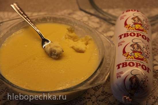 Домашний плавленный сыр Янтарь