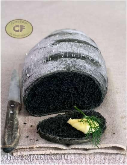 Хлеб «Улыбка гота» (с активированным углем)
