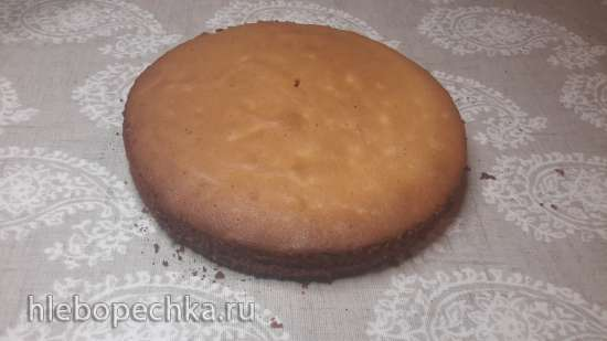 Бисквит орехово медовый на желтках