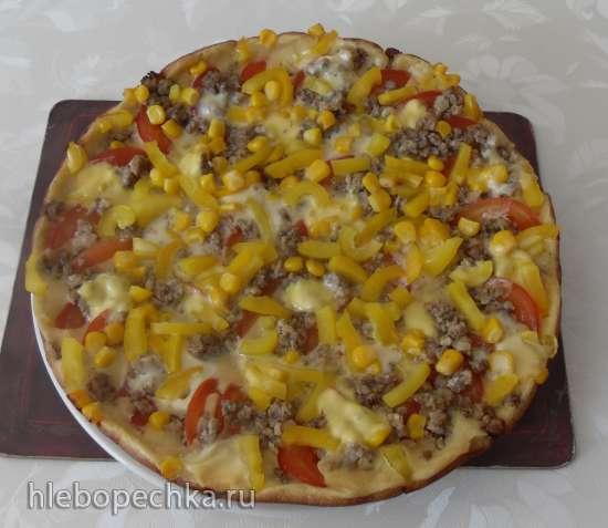 Пицца-пятиминутка на сковородке