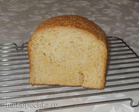 """Быстрый хлеб с кукурузной крупой """"Полента"""" в хлебопечке Panasonic SD-2500"""