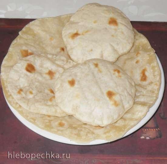 Лепешки к основным блюдам типа карри, люля-кебаб, шашлык, кофта (арабские котлеты с добавлением специй)