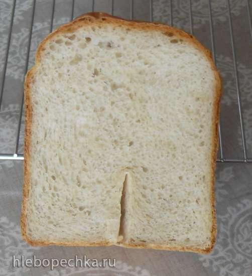 Ежедневный белый хлеб на живых/прессованных дрожжах в хлебопечке  Panasonic SD-2500