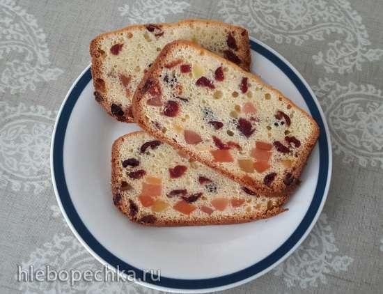 Кекс творожный с клюквой/изюмом/мармеладом... в хлебопечке