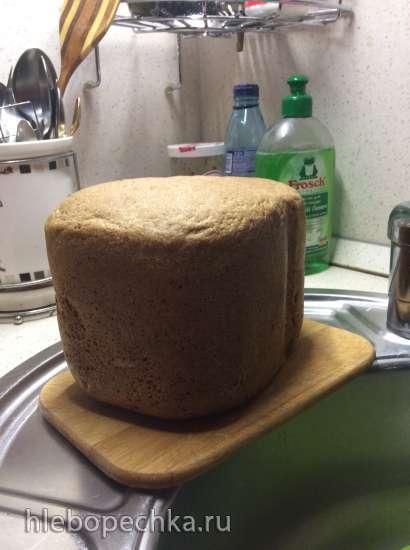 Хлеб пшенично-ржаной на закваске На каждый день
