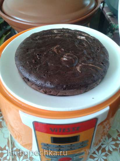 Шоколадный пирог из двух ингредиентов