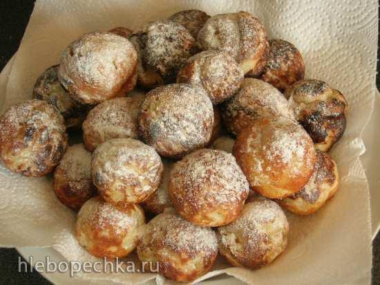 Сковорода для круглых пончиков (такоячница, сковорода для датских пончиков)