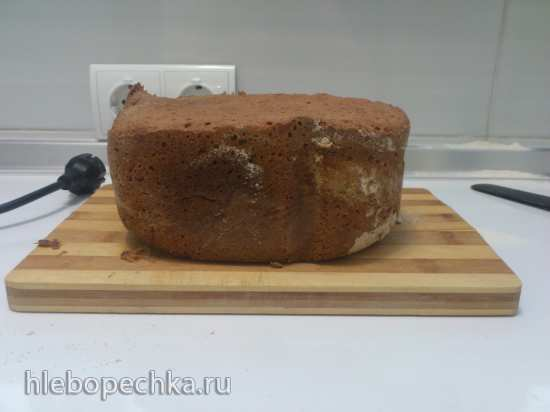 Panasonic SD-2501. Ржано-пшеничный хлеб на воде.