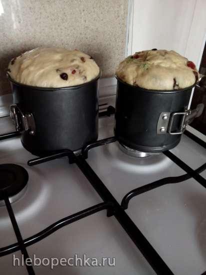 Кулич старинный (для духовки и хлебопечки)