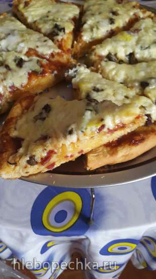 Пицца Ленивая кухарка