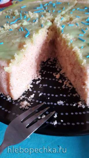 Пирог из киселя в микроволновке, мультиварке или духовке