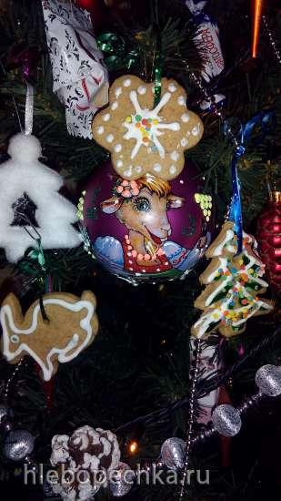 Рождественские  медовнички