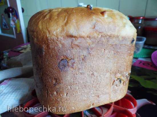 Кулич Королевский лентяй в хлебопечке
