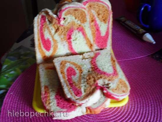 Австралийский овощной хлеб в хлебопечке