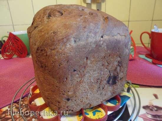 Шоколадный хлеб с блочками
