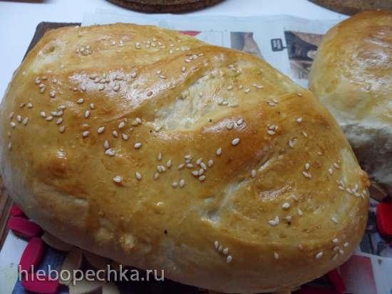 Белый канадский хлеб (духовка)