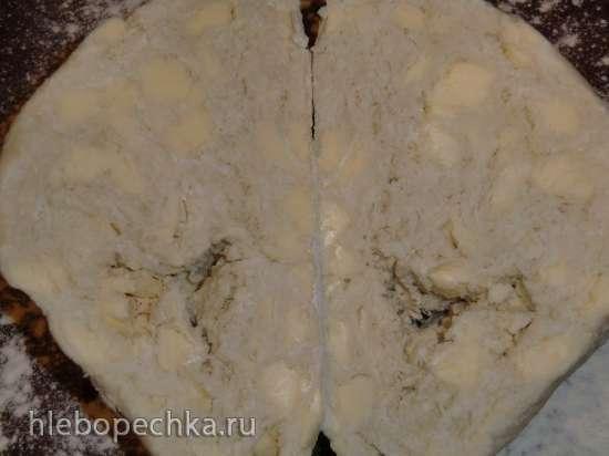 Творожное слоеное тесто