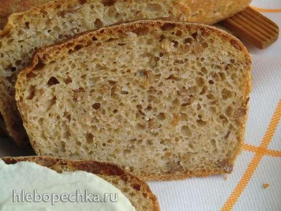 Хлеб с проростками и цельнозерновой мукой