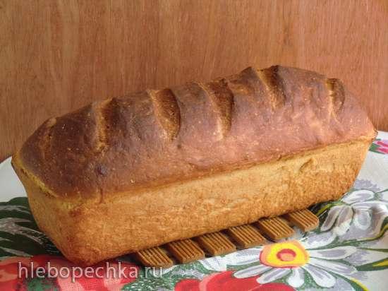 Тахинно-творожный хлеб со снытью