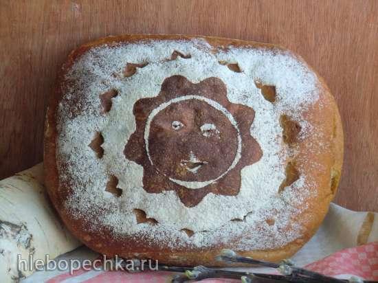 Пшенично-ржаной хлеб на деземе