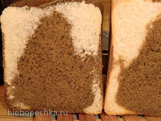 Хлеб «День и ночь» или хлеб «псевдо Бородинский» цельнозерновой с льняной мукой и солодом