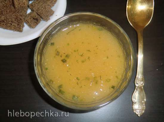 Geroestete Griessuppe (суп из обжаренной манки)
