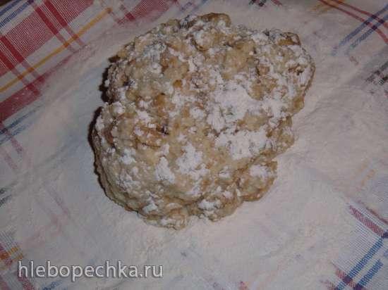Тюрингский или верхнефранконский рождественский хлебный пуддинг (Thueringer oberfraenkischer serviettenkloss)