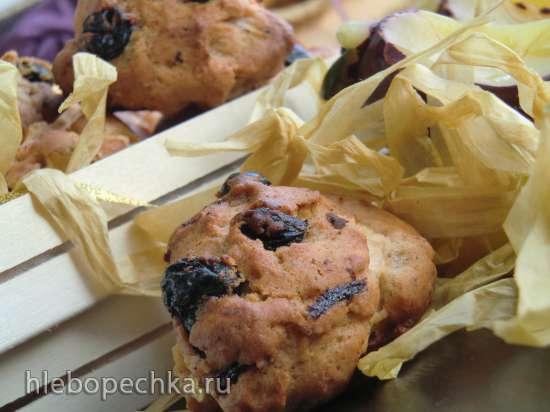 Яблочно-миндальное  печенье с корицей (Bratapfelplaetzchen)