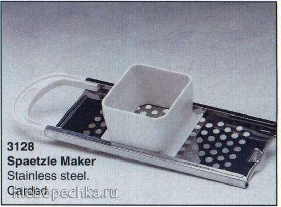 Spaetzle (Шпецле). Основы приготовления.