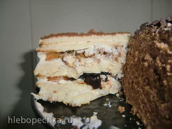 Торт «Молочная девочка» овсяно-фруктовая