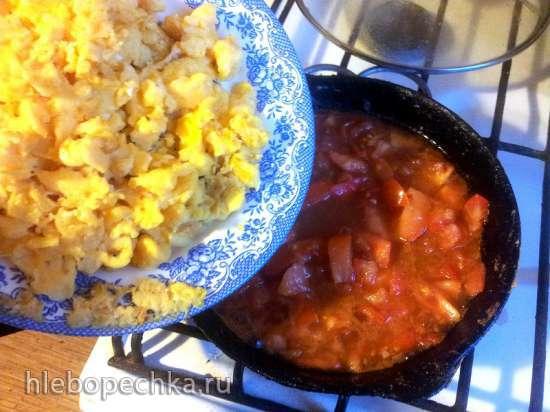 Сихунши Чао Цзидань, или Жареные яйца с помидорами по-китайски